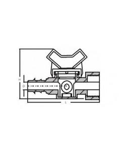 Regulator ciśnienia PSI-M20, ciśnienie: 1,4 bar